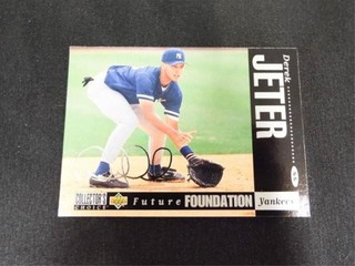 Derek Jeter Future Foundation Baseball Card