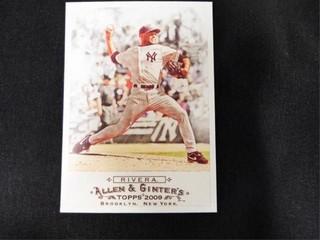 Mariano Rivera Allen   Ginter s Baseball Card