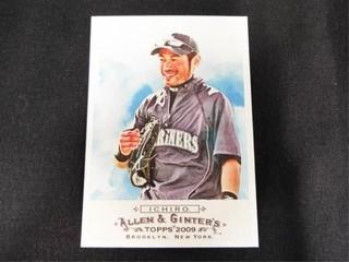 Ichiro Allen   Ginter s Baseball Trading Card
