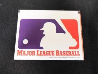 Major league Baseball Cloth Sticker Trading Card