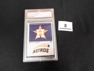 1968 72 Fleer Team logo Houston Astros Cloth Patch