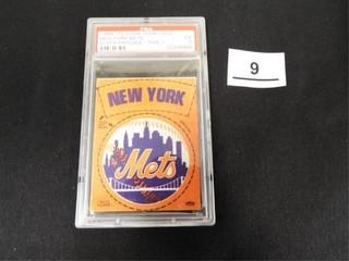 1968 72 Fleer Team logo New York Mets Cloth Patch