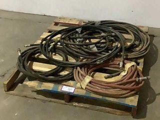 (qty-10) Hydraulic Hoses