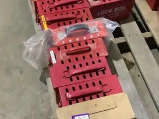 (qty - 15) Master Lock Lock Out Boxes
