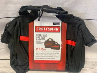 Craftsman Tool Bag Combination Set of 2