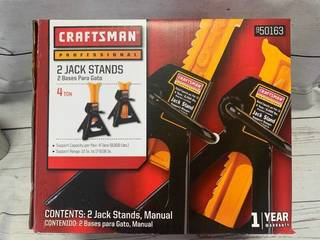 Craftsman Professional 4 Ton Jack Stands
