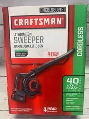 Craftsman 40 Volt Lithium Ion Cordless Sweeper