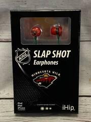 Minnesota Wild NHL Earphones