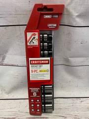 Craftsman 9pc SAE 3/8 Drive Socket Set