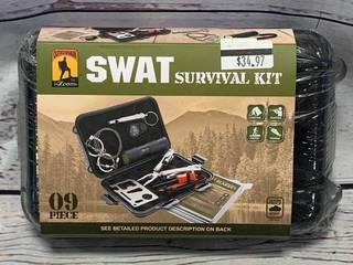 Swat 9pc Survival Kit