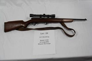 O.F. Mossberg Model 152K - .22 Long Rifle
