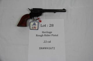 Heritage Rough Rider - .22 cal.