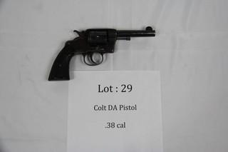 Colt DA Pistol - .38 cal.