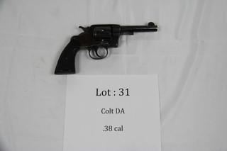 Colt DA - .38 cal.