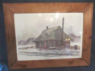 Pepin Depot Print
