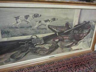 Sofa Print by H. Bos