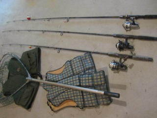 Ugly Stick Rods, Reels, Net