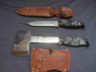 Colonial Hatchet & Knife