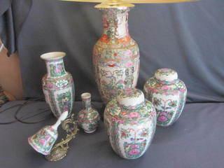 Oriental Jars, Lamp, Vases