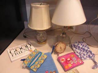 Dresser Lamps, Alarm Clock