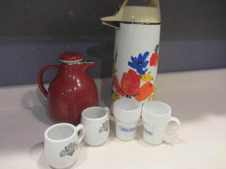 White Castle Mugs, Carafe & Airpot