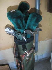 Golf Clubs & Bag