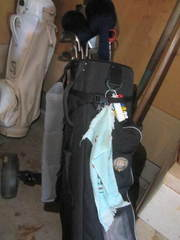 Golf Clubs, Bag & Cart