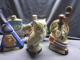 Jim Beam Decanters