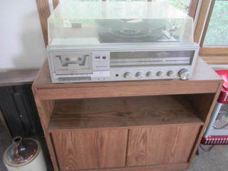 Sanyo Receiver, JXT Turntable