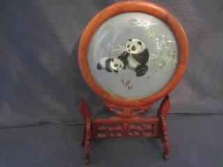 Pandas on Silk