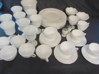 Milk Glass Dinnerware