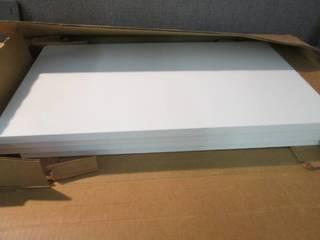 4 White Shelf Boards 24x14 inches...