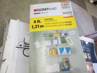 ClosetMaid Shelf Track White Wire U...