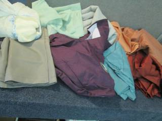 Large Lot of Assorted Curtain Panel...