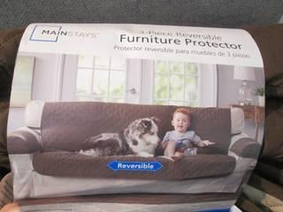 Mainstays 3 pc Sofa Cover...