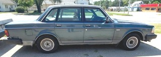 1990 Volvo 240 Dl with Title