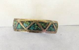 Vintage Turquoise Ring Band