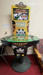 8 Player Tournament Heads Up Challenge TEXAS HOlD EM POKER Arcade Coin Operated Game with Tournament Screen