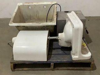 Craco Vitroware Crane Sinks, Sterilizer, Toilet Bo