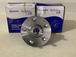 (2) ECCPP Wheel Hub Bearings RADLAGERSATZ