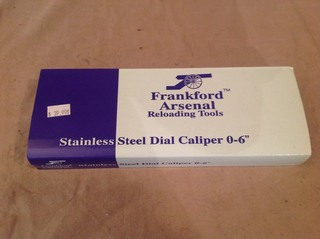 New Stainless Steel Dial Caliper 0-6