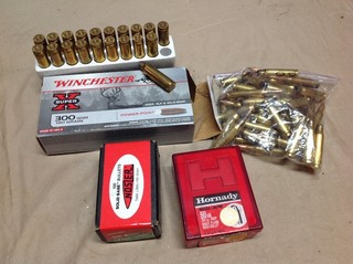 Assorted Bullets & Casings