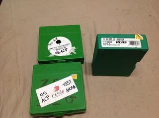22-250 Rem Die Set & Ammo Boxes
