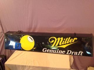 Miller Genuine Draft Pool Light
