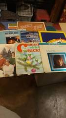 lot of 9 Vintage Records