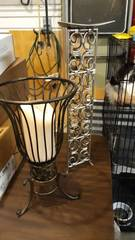 Pair of Solid Metal Candle Holders