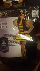 Women s Bumble Beauty Costume Size  Adult Small 2 4