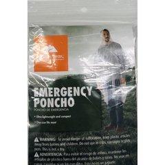 lot of 4  Ozark Trail Emergency Poncho   Clear One Size