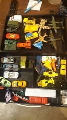 large lot of toy cars  planes and trucks