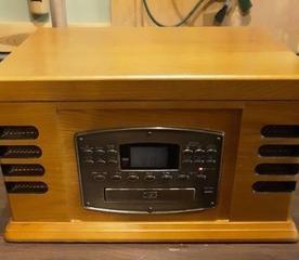 Crosley Radio  record player  cassette player  cd player